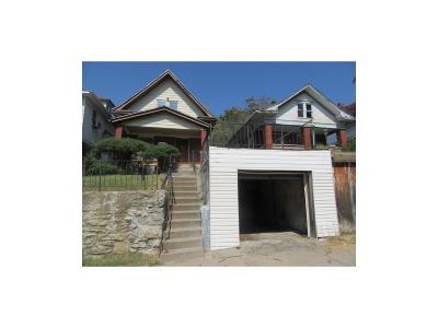 Kansas City MO Single Family Home For Sale: $16,000