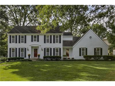 Leawood Single Family Home For Sale: 12400 Sagamore Road
