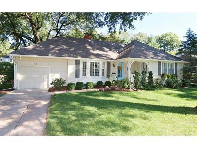 Prairie Village Single Family Home Show For Backups: 4718 W 66 Street
