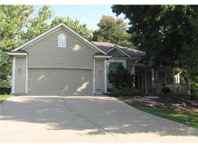 Weatherby Lake Single Family Home For Sale: 9802 NW 75th Street