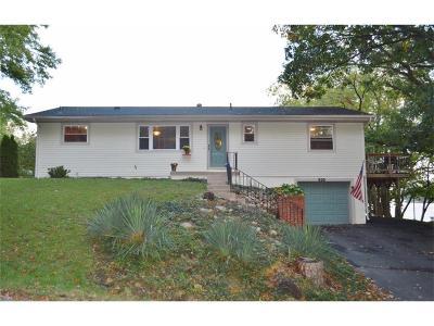 Lake Waukomis Single Family Home For Sale: 635 NW North Shore Drive