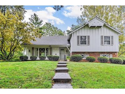 Overland Park Single Family Home For Sale: 9741 Aberdeen Drive