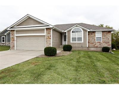 Raymore MO Single Family Home For Sale: $210,000