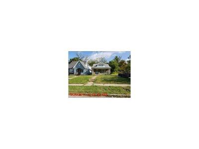 Kansas City MO Single Family Home For Sale: $15,400