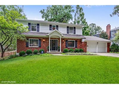 Leawood Single Family Home For Sale: 3419 W 92nd Place