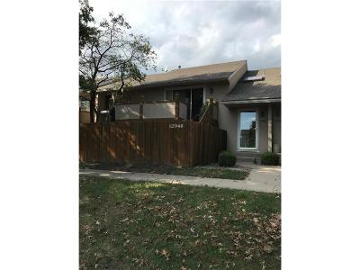 Overland Park Condo/Townhouse For Sale: 12948 W 110th Street