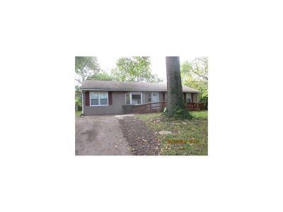 Kansas City MO Single Family Home For Sale: $53,900