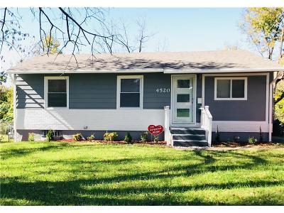 Kansas City MO Single Family Home For Sale: $64,900