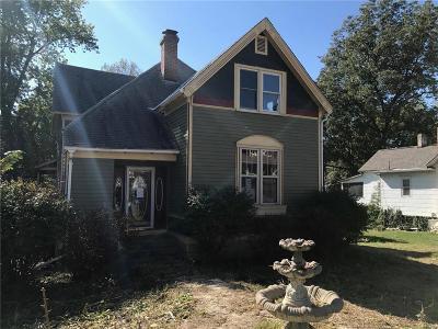Harrisonville MO Single Family Home For Sale: $62,000