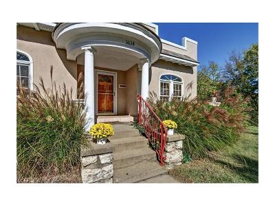 Kansas City Single Family Home For Sale: 3634 E Roanoke Drive