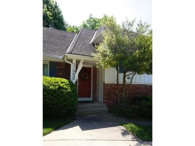 Kansas City Single Family Home Contingent: 11953 Avila Drive