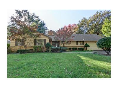 Fairway Single Family Home For Sale: 5838 Cherokee Drive