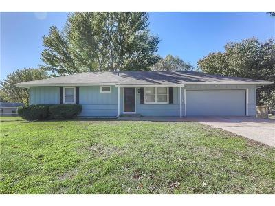 Raymore MO Single Family Home For Sale: $159,900