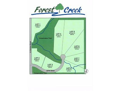 Miami County Residential Lots & Land For Sale: 29260 W 226th Court