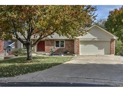 Lenexa Single Family Home For Sale: 14829 W 93rd Street
