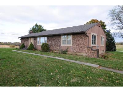 Louisburg Single Family Home For Sale: 26485 Metcalf Road