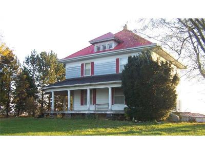 Atchison County Single Family Home Auction: 11196 242nd Road