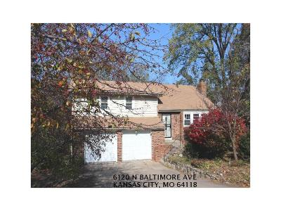 Gladstone MO Single Family Home For Sale: $114,400