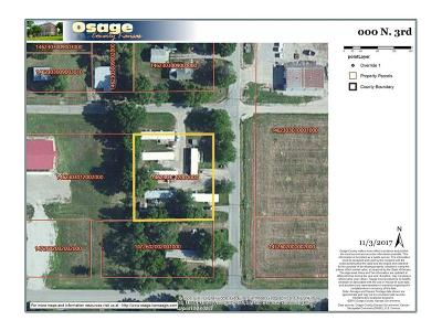 Osage County Residential Lots & Land For Sale: N 3rd Street