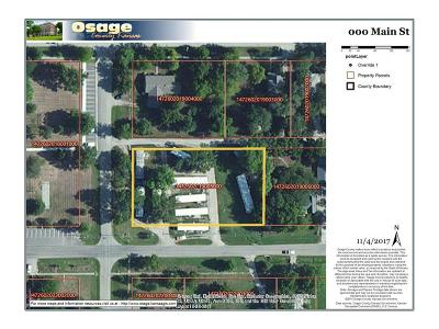 Osage County Residential Lots & Land For Sale: Main Street