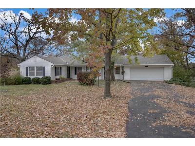 Merriam Single Family Home For Sale: 6307 Robin Hood Drive