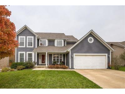 Olathe Single Family Home Show For Backups: 18229 W 157th Terrace