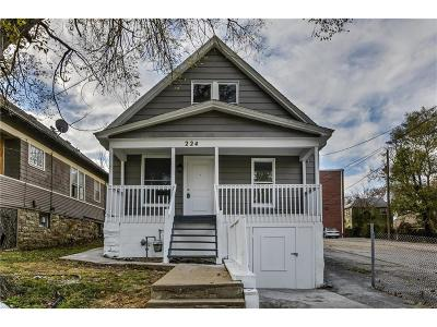 Kansas City Single Family Home For Sale: 224 N 19th Street