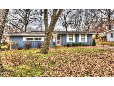 Overland Park Single Family Home For Sale: 7144 Lowell Street