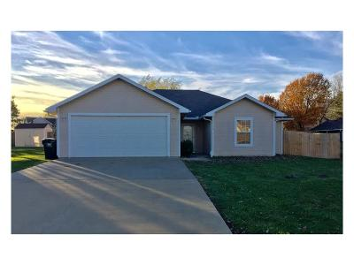 Knob Noster Single Family Home For Sale: 1186 SE 125 Road