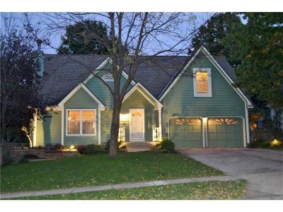 Lenexa Single Family Home For Sale: 8009 Lakeview Avenue