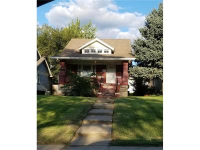 Kansas City Single Family Home For Sale: 6743 Paseo Street