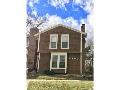 Lenexa Condo/Townhouse For Sale: 12310 W 79th Terrace