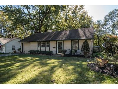 Prairie Village Single Family Home For Sale: 7629 Rainbow Drive