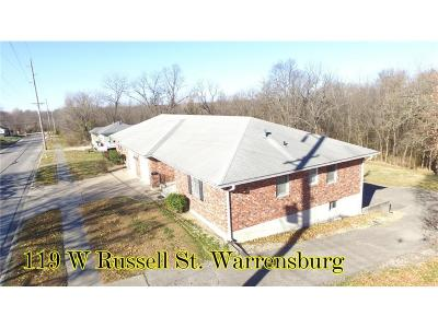 Warrensburg Multi Family Home For Sale: 119 W Russell Street