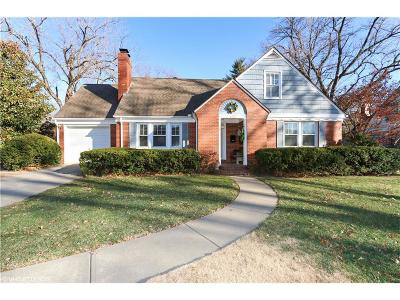 Leawood Single Family Home For Sale: 8129 Meadow Lane