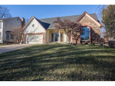 Shawnee Mission Single Family Home For Sale: 10736 Horton Street