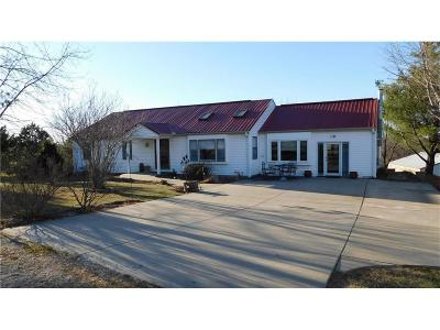 Single Family Home For Sale: 21400 McCoy Road