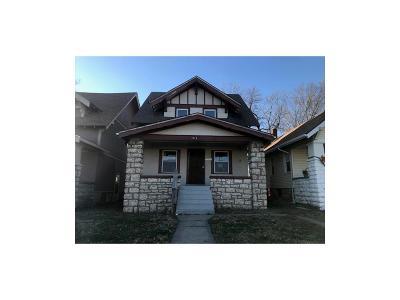 Kansas City Single Family Home Auction: 3714 Indiana Avenue