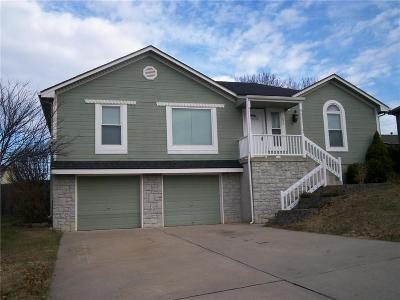 Raymore MO Single Family Home For Sale: $182,000