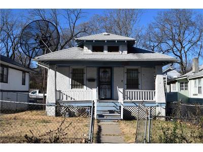 Kansas City Single Family Home For Sale: 5212 Wabash Avenue