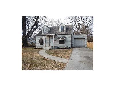 Kansas City Single Family Home For Sale: 1406 N 26th Street