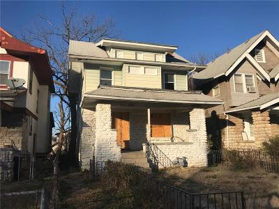 Kansas City Single Family Home For Sale: 2502 E 42 Street
