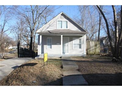 Kansas City Single Family Home For Sale: 1947 N 17th Street