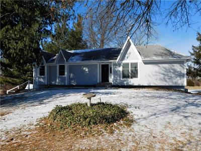 Spring Hill Single Family Home For Sale: 21550 W 220th Street
