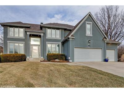 Overland Park Single Family Home For Sale: 5848 Edgewater Drive