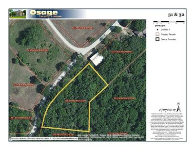 Osage County Residential Lots & Land For Sale: Hickory Lane