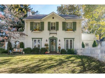Single Family Home For Sale: 6717 Brookside Road