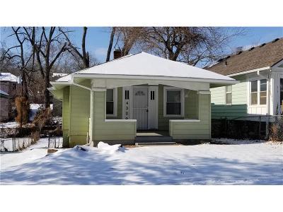 Kansas City Single Family Home For Sale: 4308 Flora Avenue
