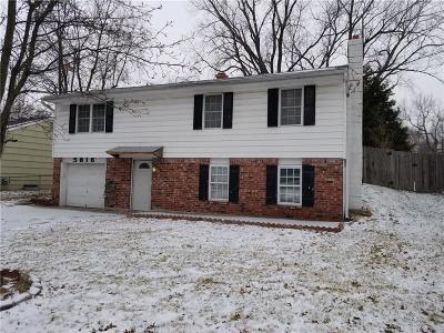 Kansas City Single Family Home For Sale: 5816 N Oakley Avenue