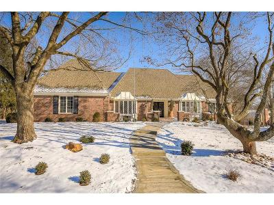 Leawood KS Single Family Home For Sale: $775,000